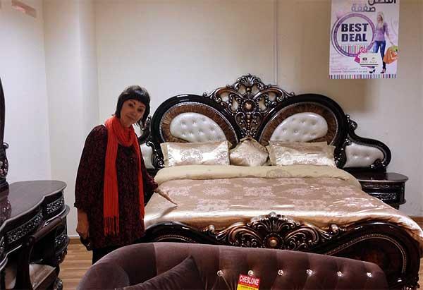 Furniture buying | Ian Edelman in Doha