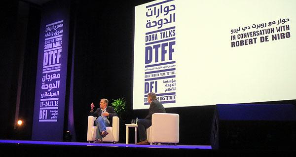 De Niro interviewed