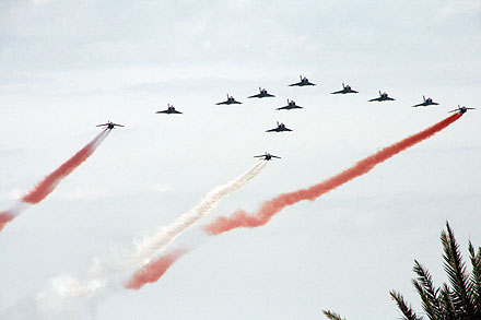 Jets in flypast