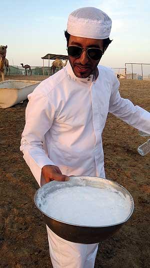 Camels milk