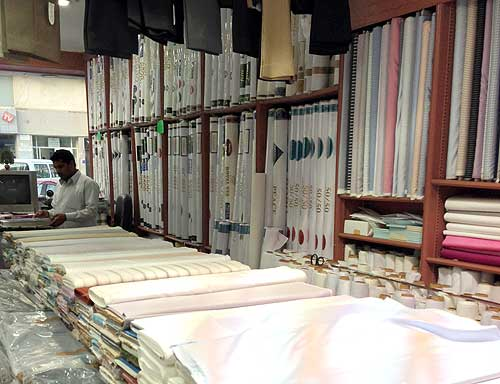 Inside Samra Tailors