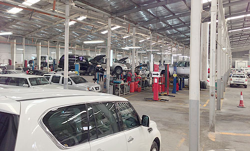 Nissan workshop Doha