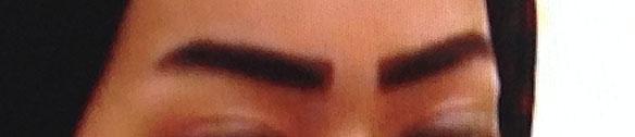 The Qatari eyebrow