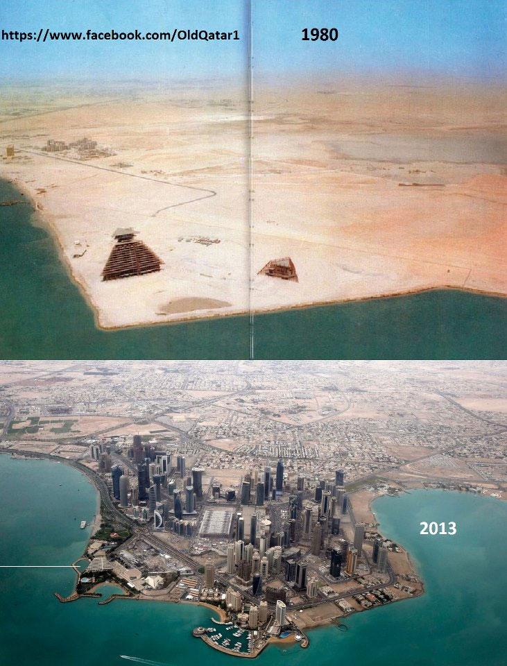 Doha 1980 and now