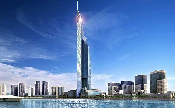 Dubai Tower  - artists impression